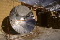 Solar cooker Royalty Free Stock Photos