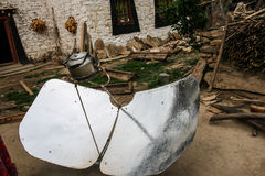 Solar Cooker In Danba,sichuan,china Stock Images