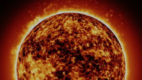 Solar cosmic sun Royalty Free Stock Image