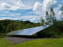 Solar in the Country Royalty Free Stock Photography