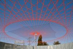 Solar de la planta del biogás Fotos de archivo libres de regalías