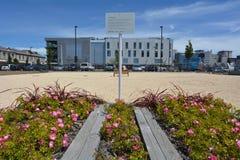 Solar de la TVC en Christchurch - Nueva Zelanda Foto de archivo
