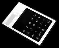Solar design electronic calculator Royalty Free Stock Photos