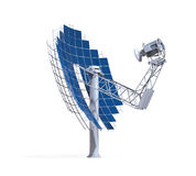 Solar Dish Engine Royalty Free Stock Image