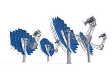 Solar Dish Engine Stock Photos