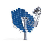 Solar Dish Engine Royalty Free Stock Photos