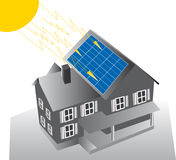 Solar dwelling Stock Images