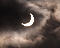 Solar eclipse 11 Stock Images