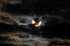 Solar eclipse Royalty Free Stock Images