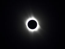 Solar eclipse 2006 in Astrakhan Stock Photo