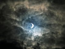 Solar eclipse Royalty Free Stock Image