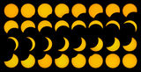 Solar eclipse 29.03.06. Royalty Free Stock Photo