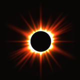 Solar eclipse Stock Photography