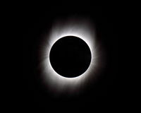 Solar Eclipse. Longest Total Solar Eclipse of the Century July 2009 taken off the coast of SE Asia Royalty Free Stock Image