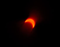 Solar eclipse 4. Solar eclipse, abstract light effect royalty free stock image