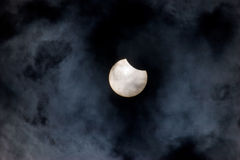 Solar eclipse Royalty Free Stock Photo
