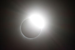 Solar Eclipse of August 21, 2017. The solar eclipse of August 21st, 2017 Stock Photos
