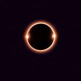 Solar Eclipse Background Stock Image