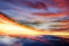 Beautiful sky. Solar eclipse . Light from sky . Religion background . Religion background . Background - Doomsday . Beautiful sky Royalty Free Stock Photo