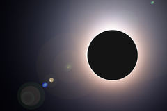 Solar eclipse of 2015, March 20 Stock Photos