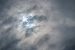 Solar eclipse of March 20, 2015 in  Veliky Novgorod, Russia Stock Photos