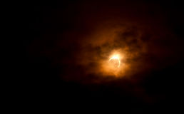 Solar eclipse May 20 2012 Stock Photography