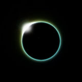 Solar eclipse moon Royalty Free Stock Photography