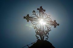 Solar eclipse 2015, Slovakia Stock Images