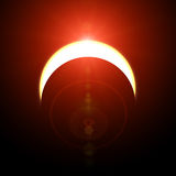 Solar eclipse Stock Images