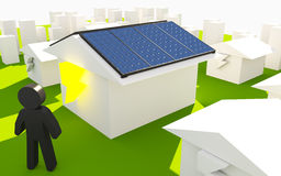 Solar Enengy Concept Royalty Free Stock Photo