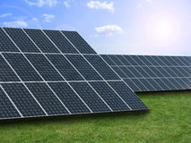 Solar energy Stock Photo