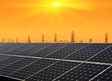 The Solar Energy Royalty Free Stock Photography