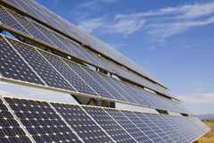 SOLAR ENERGY. Alternative energy sources. Solar panels Royalty Free Stock Image