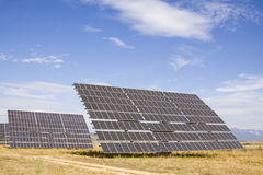 SOLAR ENERGY. Alternative energy sources. Solar panels Royalty Free Stock Photography