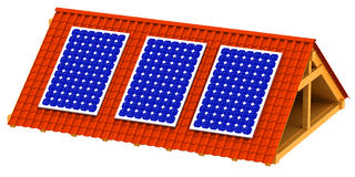 Solar energy Stock Image
