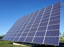 Solar energy Stock Image