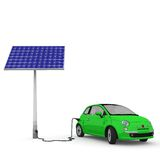 Solar energy car 2 Royalty Free Stock Image