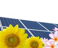 Solar energy cells Royalty Free Stock Image