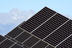 Solar Energy Closeup Royalty Free Stock Photography