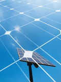 Solar energy concept Royalty Free Stock Photography