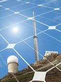 Solar energy concept Stock Photo