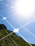 Solar energy concept Stock Photos