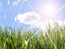 Solar energy concept Stock Image
