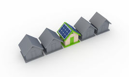 Solar energy concept. Stock Image