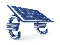 Solar energy concept. Stock Photos