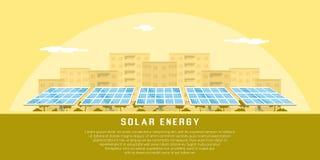 Solar energy concept Royalty Free Stock Photo