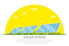 Solar energy concept Stock Photo
