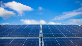 The Solar energy. On day light background Stock Photography
