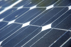 Solar Energy Detail Stock Photography