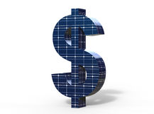 Solar Energy Dollar Stock Photos